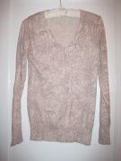 beige patterned sweater